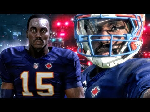 PLAYING WR FOR NEW TEAM IN TORONTO CANADA! Madden 18 Career Mode Gameplay Ep. 1