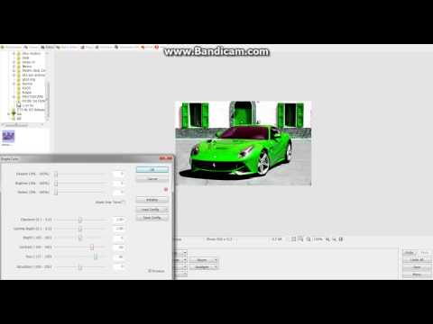 How to change color of cars and other things in PhotoScape!