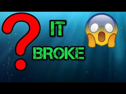 It Broke!!!!