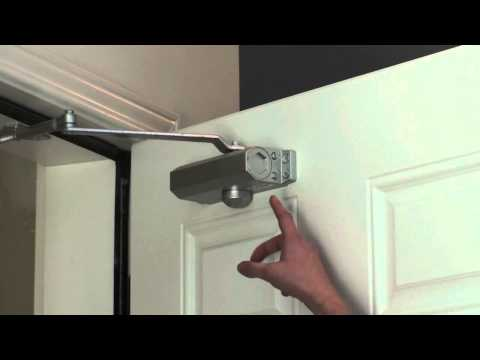 Adjusting Your Door Closer