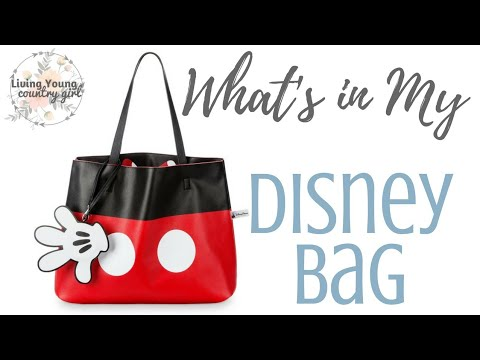 What's in My Disney Day Bag? Packing tips for traveling with kids!