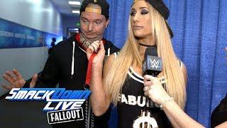 Carmella has James Ellsworth show off some new tricks: SmackDown LIVE Fallout, Sept. 19, 2017