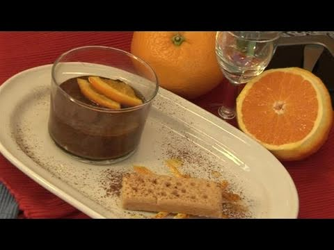 How To Make A Delicious Orange Flavoured Chocolate Mousse - Egg Free