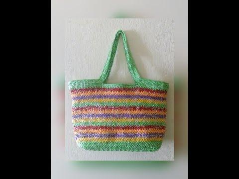 Making Plarn Bags (Pattern 1)
