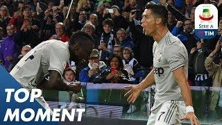 Ronaldo Strikes for Juve