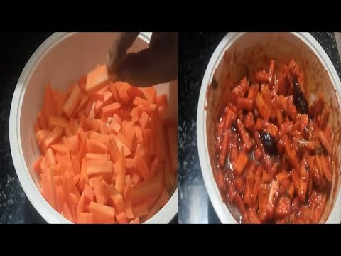 CARROT PICKLE||INSTANT CARROT PICKLE||VEGETABLE PICKLE||YUMMY YUMMY PICKELS