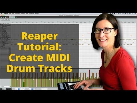 Reaper Tutorial: Create MIDI Drum Tracks With FREE MT Power Drum Kit VSTi