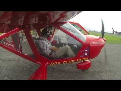 My ultralight flight with Avia Club Nepal