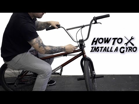 HOW TO INSTALL A BMX GYRO BRAKE SYSTEM