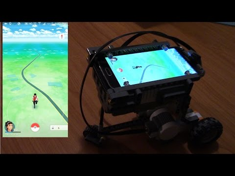 Egg hatching Robot for Pokemon Go