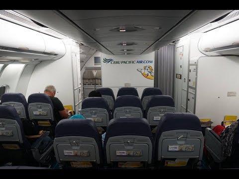 Cebu Pacific A330-300 Experience: 5J803 Manila to Singapore