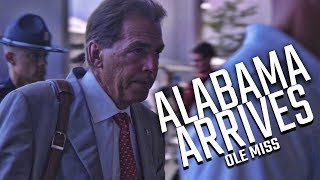 Alabama Arrives at Vaught-Hemingway Stadium for the battle against Ole Miss
