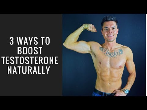 3 Natural Ways To Boost Your Testosterone Levels! (Increase Libido, Energy & Lose Excess Fat)