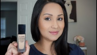 YSL All Hours Full Coverage Matte Foundation Demo and Review