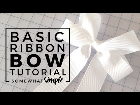 How To Make A Boutique Style Hair Bow For Girls EASY Tutorial