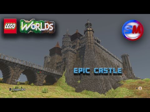 [EPIC] [CUSTOM] : [LEGO WORLDS CASTLE] with end cinematic.