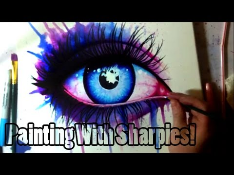 Painting With Sharpies!?