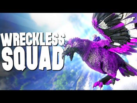 WRECKLESS SQUAD! - Ark Survival Evolved (Modded)