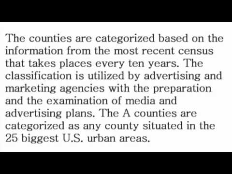 ABCD Counties - What is the Definition? - Financial Dictionary by Subjectmoney.com