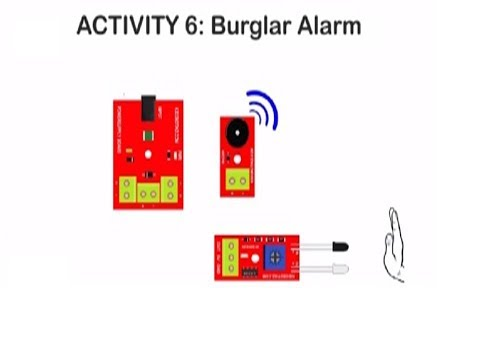 how to make a simple security system at home