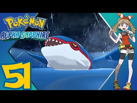 Pokémon Alpha Sapphire - Episode 51 - Seafloor Cavern & Kyogre's Awakening - Gameplay Walkthrough