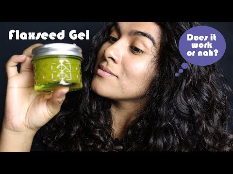 DIY Flaxseed Gel for 2c/3A Hair | Does it Work? (Curly Hair Mondays)