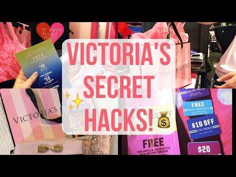 VICTORIA'S SECRET HACKS! GET FREE THINGS & HUGE DISCOUNTS!!