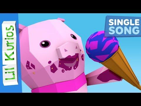 Ice Cream Song | Nursery Rhymes & Kids Songs | Lil Kurios