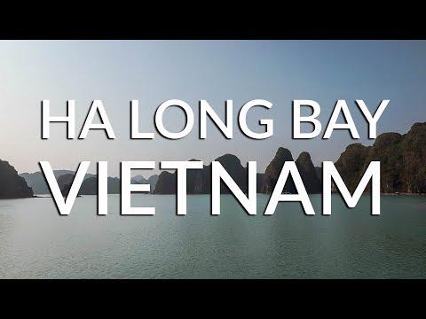 Foreigner visits the breathtaking HA LONG BAY! | Vietnam Travel Vlog