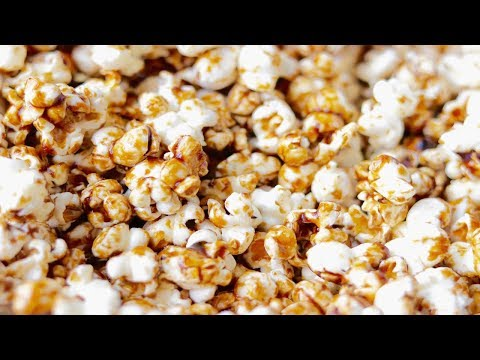 how to make PERFECT CARAMEL POPCORN--Cooking A Dream