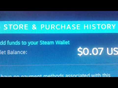 how to put 100$ on ur steam wallet