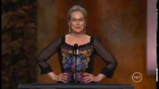 Meryl Streep Tribute to Jane Fonda
