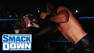 """""""The Fiend"""" Bray Wyatt drags Seth Rollins to hell: SmackDown, Oct. 11, 2019"""