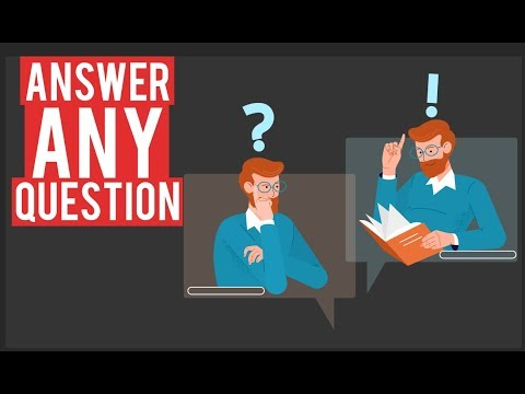 How To Answer Dumb Questions!!!
