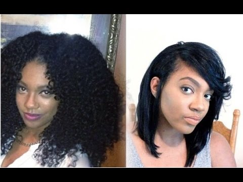 HOW TO| Fit Long Thick NATURAL Hair under a WIG