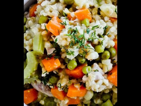 HOW TO PREPARE VEGETABLE COBBLER WITH PEARL BARLEY - ENERGY FOOD,NON VEGETARIAN,FUNNY HOT RECIPES