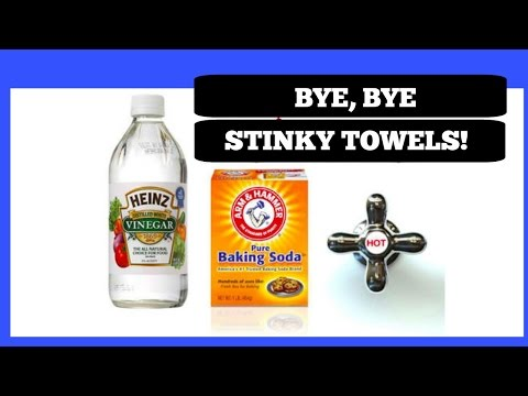 Bye, Bye Stinky Towels!!