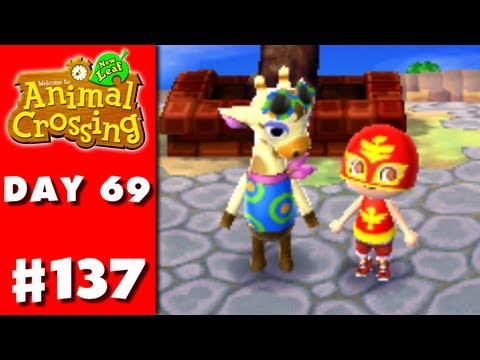 Animal Crossing: New Leaf - Part 137 - Gracie (Nintendo 3DS Gameplay Walkthrough Day 69)