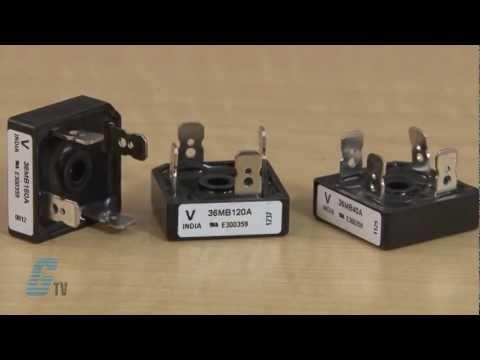 Vishay MB Series Single Phase Bridge Rectifier Overview