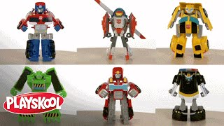 Playskool Heroes - Transformers Rescue Bots Demo