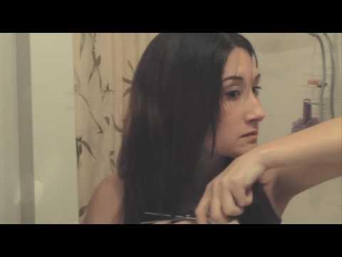 Whispy Layers - How I Trim My Hair