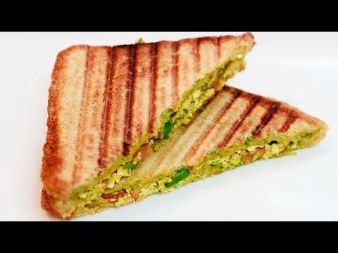 Paneer Sandwich recipe | Breakfast Special :)
