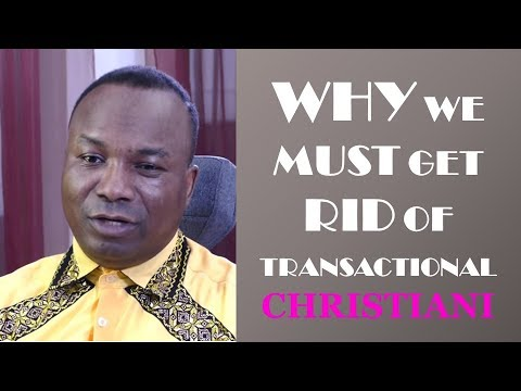 2018-06-04: TEMPLE CLEANSERS AND IDOLSMASHERS: WHY WE MUST GET RID OF TRANSACTIONAL CHRISTIANI