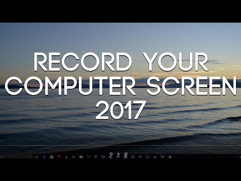How to Record Your Laptop Screen 2017