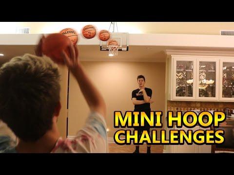 EXTREME MINI BASKETBALL CHALLENGES!!