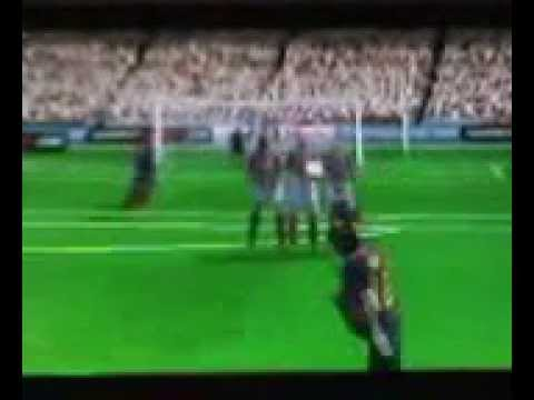 FIFA 14 PSP Messi Free Kick