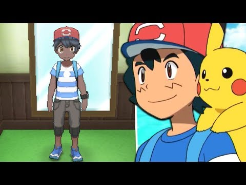 How To Get Ash Ketchum's Alola Clothes (Ash Hat) in Pokémon Ultra Sun and Ultra Moon