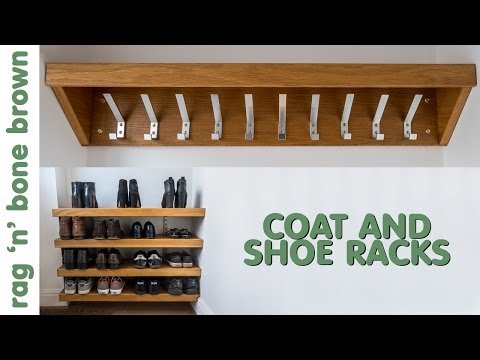 Making Coat And Shoe Racks