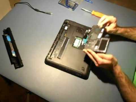 How to Remove Laptop Hard Drive (Dell Inspiron)