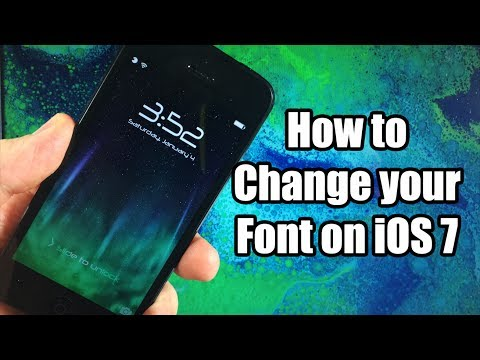 How to Change Your Font on iOS 7- BytaFont 2 FREE